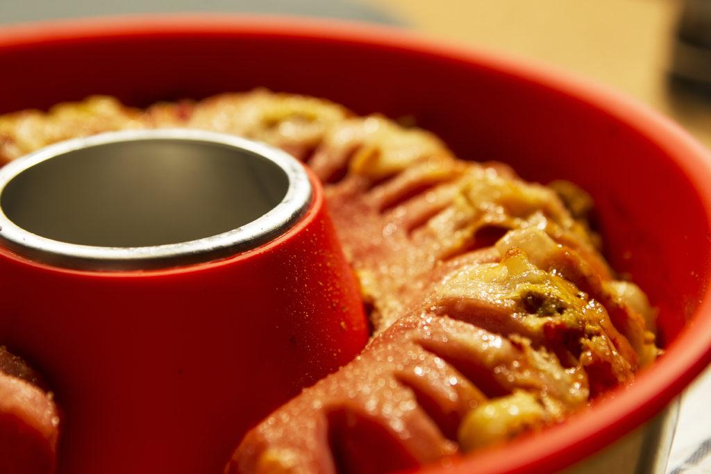 Kuchen in der Omina Silikon-Backform, Bild: Omnia