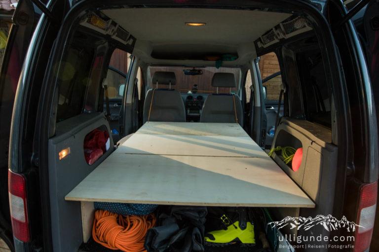 Ulligunde.com: VW Caddy Ausbau in Eigenleistung