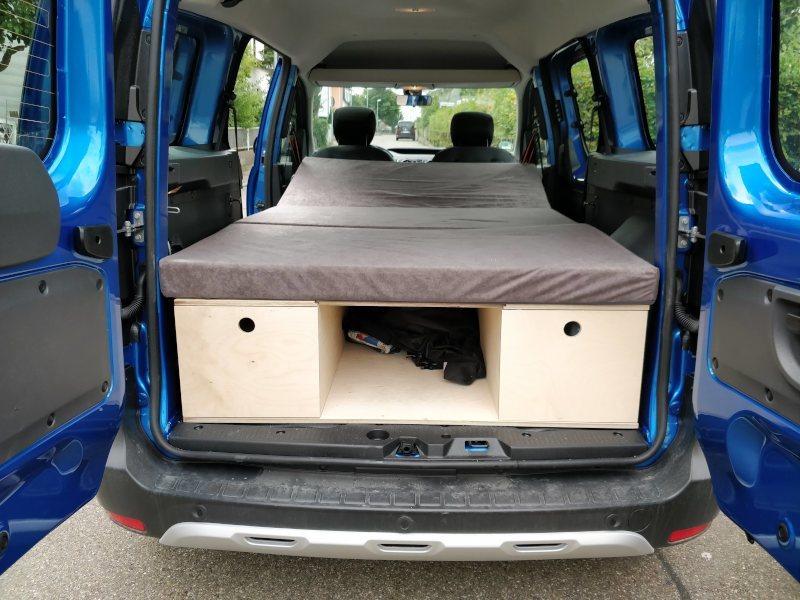 Dacia Dokker DIY Campingbox von spike05.de