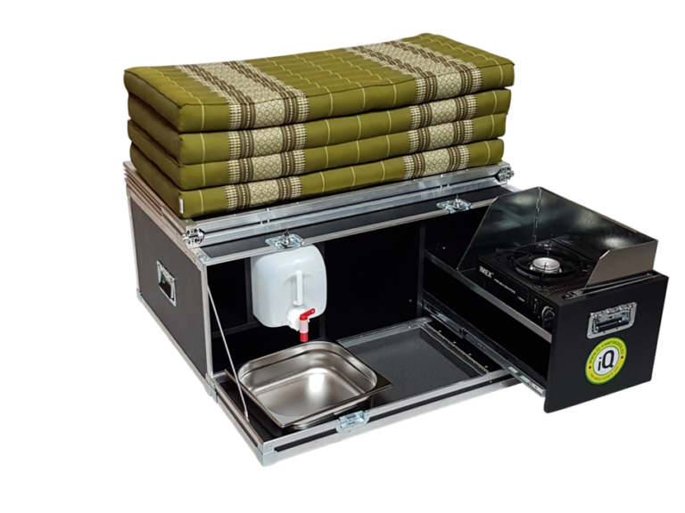 Die IQ-CAMPINGBOX 2.0, Bild: iq-campingbox.eu