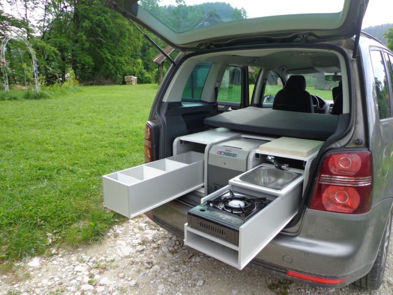 Sipras FLIP - Campingbox für Hochdachkombis, Bild: sipiras.si