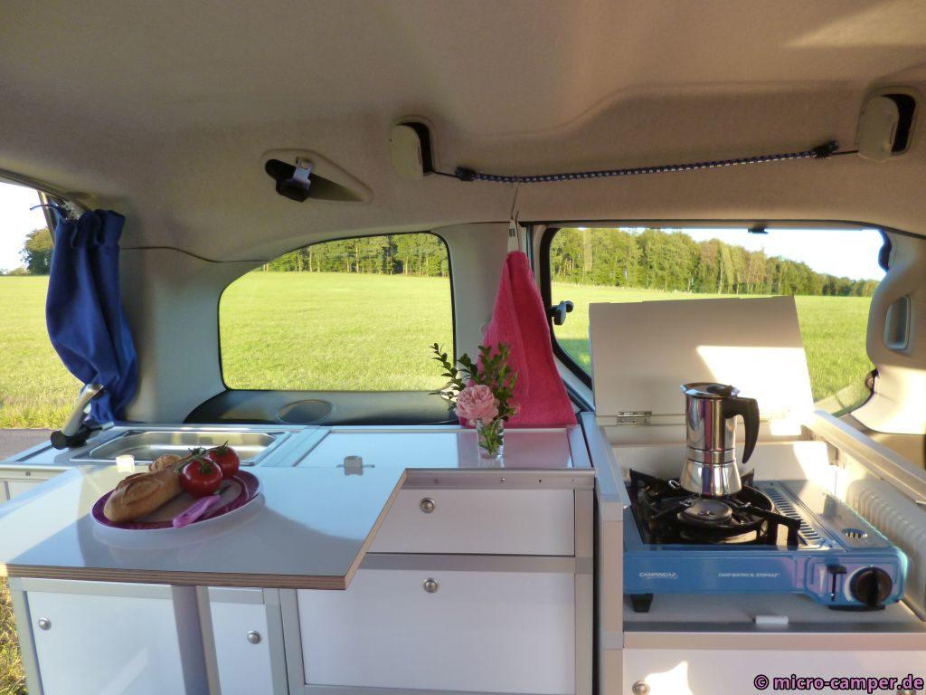 micro : Das Berlingo Wohnmobil – Camping mit dem